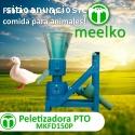Máquina Meelko pellets con madera 150