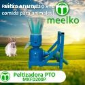 Máquina para pellets con madera 200 PTO