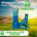 Peletizadora Meelko 260 mm 35 hp PTO