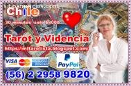 tarot español a solo $8000 los 30min