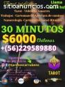 TAROT TELEFONICO 15 MINUTOS DESDE 3800$