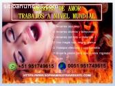 UNIÓN DE PAREJAS DISTANCIADAS, AMARRES