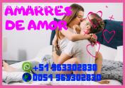 AMARRES DE AMOR PROFESIONALES