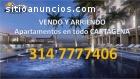 Apartamentos en arriendo en Cartagena