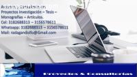 Asesoría Tesis Proyectos Monografias