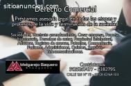 ATENCION LEGAL EN DERECHO COMERCIAL.