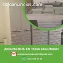Cajas metalicas para medicamentos en col