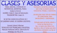 CLASES AREA DE MATEMÁTICAS.