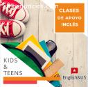 Clases de apoyo Inglés niños y adolescen