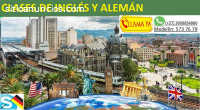 Clases de Inglés y Alemán presen - linea