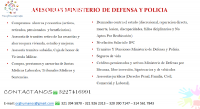 DEMANDAS DE MINISTERIO DE DEFENSA