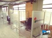 Divisiones para oficinas