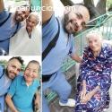 Enfermero para cuidado de tercera edad