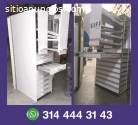 estanterias metalicas, exhibidores, gond