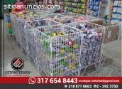 Estanterias para supermercados al mejor