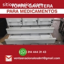 estantes para medicamentos
