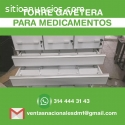 Exhibidores estantes metalicos económico