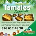 Exquisitos tamales veganos en Bogotá