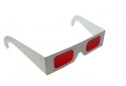 Gafas 3D Decodificador Lente Rojo