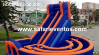 inflables saltarines, safari eventos