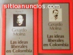 LAS IDEAS LIBERALES EN COLOMBIA, 2 tomos