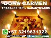MAESTRA CARMEN TRABAJOS Y AMARRES