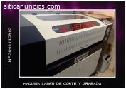 maquina laser grabado y corte laser
