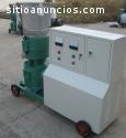 Maquina para pellets 160-250 kg/h