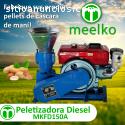 Meelko Peletizadora para alfalfa MKFD150