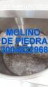 MOLINO DE PIEDRA PARA CACAO