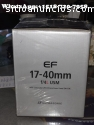 Nueva lente original Canon EF 17-40 mm f