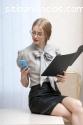 Opción segura trabajo call center girl