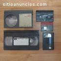Pasar de VHS , Betmax a dvd en bogota