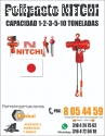 POLIPASTOS ELECTRICOS DE CADENA O GUAYA