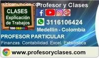 Profesor Contabilidad Medellin domicilio
