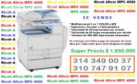 Ricoh Aficio MPC 4000 - Multifuncional