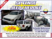 SE VENDE JEEP CHEROKE MODELO 1995