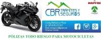 SEGURO TODO RIESGO PARA MOTOS DE ALTO CI