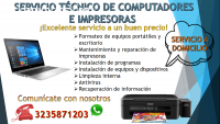 Servicio técnico de computadores e impre