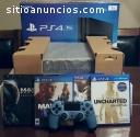 Sony PS4 1TB con 7 juegos $150 dolares