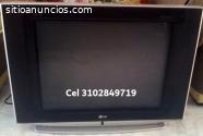 Televisor Lg Super Slim de 21 pulgadas p
