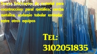 TESTEROS O RILES PARA PAVIMNETO, PARAL M