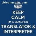 Traductores e Intérpretes.