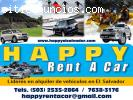 Rent A Car El Salvador