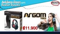 Audifono ARGOM ARG-HS-0063 con microfono