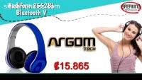Audifono ARGOM ARG-HS-2552BL Bluetooth V