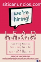 CALL CENTER LEAD GENERATION LAW FIRM JOB