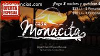 Casa Monacita Apartments - Tamarindo