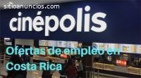 Cinépolis tiene 14 ofertas de empleo