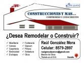 Construcciones y Mas